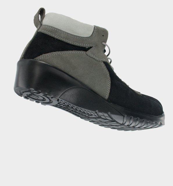 chaussure de scurit confortable et lgre pour femme. Black Bedroom Furniture Sets. Home Design Ideas