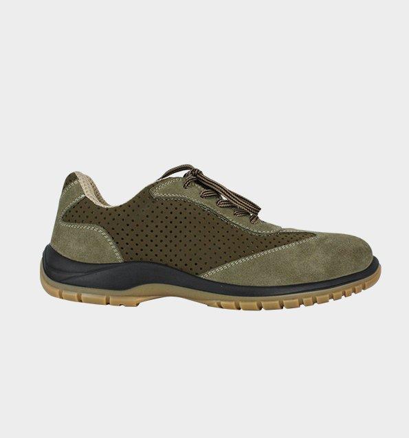 -43% chaussure de sécurité basse pour homme en cuir perforé ultra  respirante nordways 5281a3ca96a1