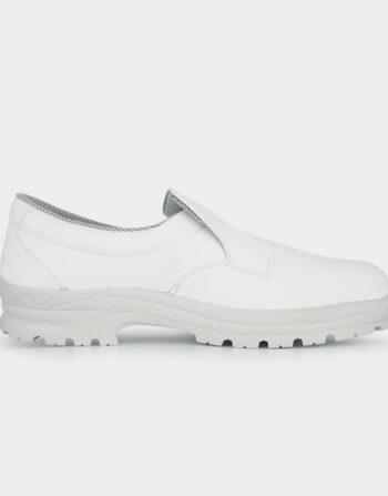 TED Chaussure De Sécurité Cuisine Grande Pointure S2 HRO SRC blanc