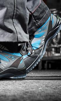 chaussure de sécurité confortable S1P